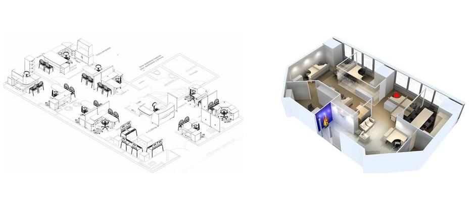 Dise o de oficinas gesti n integral hermarta for Diseno de oficinas pequenas planos