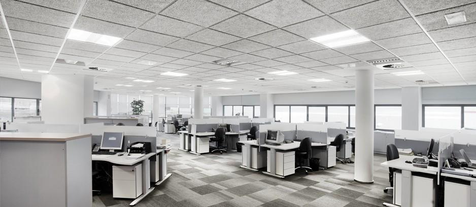 Techos t cnicos y tabiquer a seca para oficina techos for Oficina de prestaciones